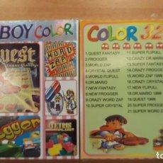 Videojuegos y Consolas: JUEGO GAME BOY COLOR. Lote 218025435