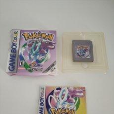 Videojuegos y Consolas: POKEMON CRISTAL NO ORIGINAL GAMEBOY GAME BOY. Lote 172730248