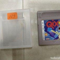 Videogiochi e Consoli: QIX - GAME BOY GAMEBOY GB - PAL. Lote 172822358
