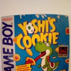 Videojuegos y Consolas: JUEGO GAME BOY-YOSHIS COOKIE-FALTAN LAS INSTRUCCIONES. Lote 173172828