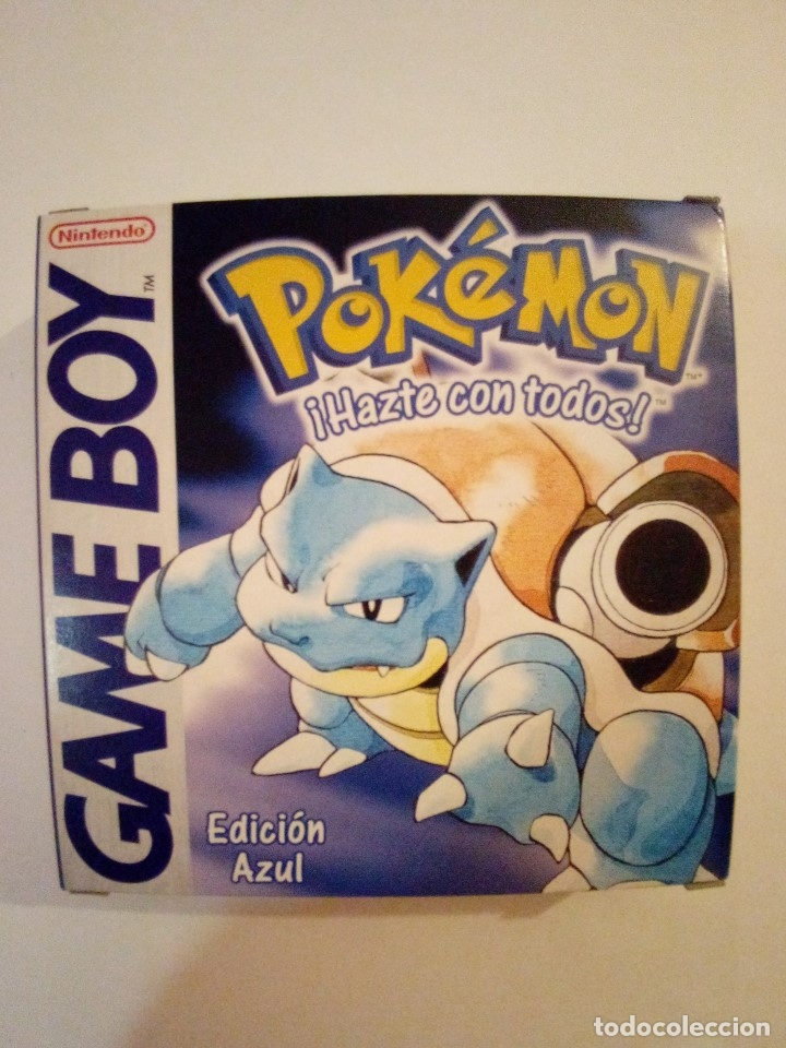 JUEGO GAME BOY-POKEMON EDICION AZUL-FALTAN LAS INSTRUCCIONES (Juguetes - Videojuegos y Consolas - Nintendo - GameBoy)