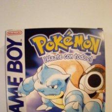 Videojuegos y Consolas: JUEGO GAME BOY-POKEMON EDICION AZUL-FALTAN LAS INSTRUCCIONES. Lote 173191049