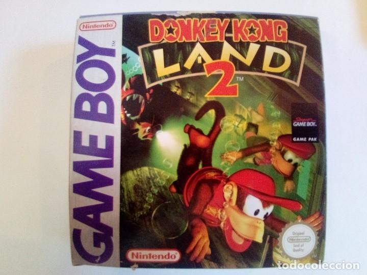 CAJA DE JUEGO GAME BOY-DONKEY KONG LAND 2-PALCON INSTRUCCIONES (Juguetes - Videojuegos y Consolas - Nintendo - GameBoy)