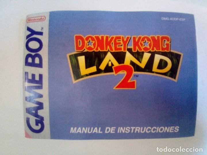 Videojuegos y Consolas: CAJA DE JUEGO GAME BOY-DONKEY KONG LAND 2-PALCON INSTRUCCIONES - Foto 9 - 173431737
