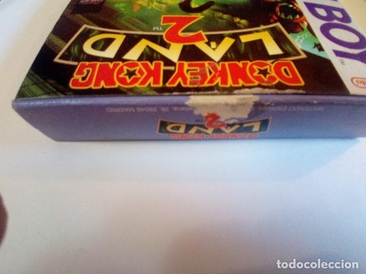 Videojuegos y Consolas: CAJA DE JUEGO GAME BOY-DONKEY KONG LAND 2-PALCON INSTRUCCIONES - Foto 11 - 173431737