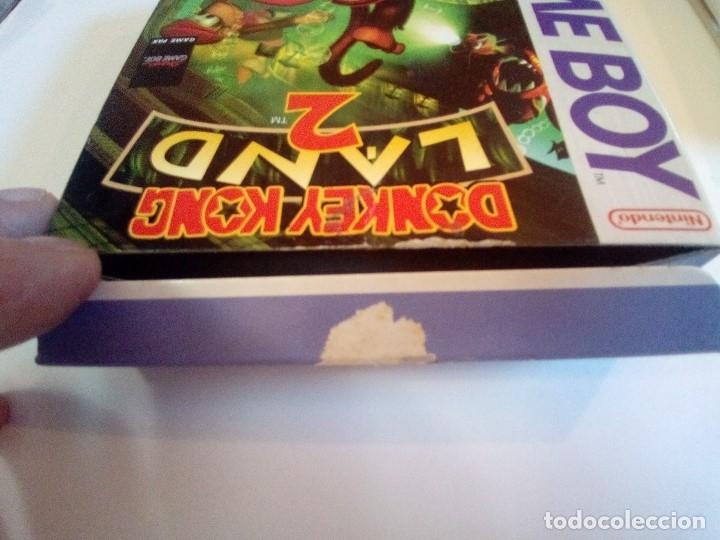 Videojuegos y Consolas: CAJA DE JUEGO GAME BOY-DONKEY KONG LAND 2-PALCON INSTRUCCIONES - Foto 12 - 173431737