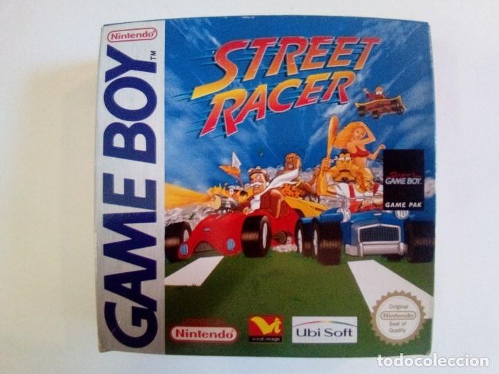 CAJA DE JUEGO GAME BOY-STREET RACER-PALCON INSTRUCCIONES-MUY BUEN ESTADO (Juguetes - Videojuegos y Consolas - Nintendo - GameBoy)