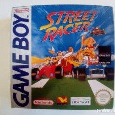 Videojuegos y Consolas: CAJA DE JUEGO GAME BOY-STREET RACER-PALCON INSTRUCCIONES-MUY BUEN ESTADO. Lote 173431805