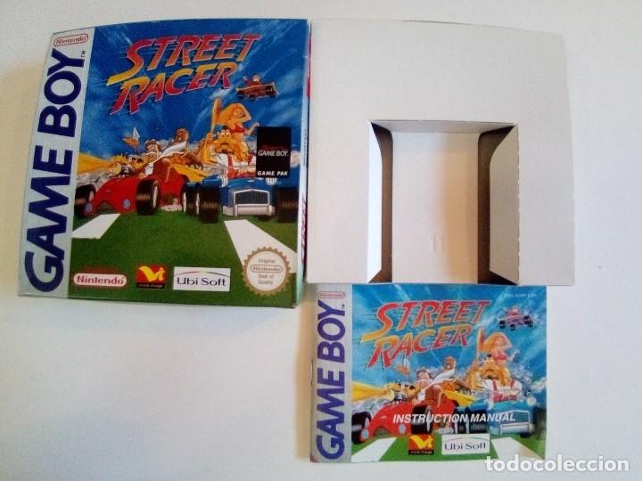 Videojuegos y Consolas: CAJA DE JUEGO GAME BOY-STREET RACER-PALCON INSTRUCCIONES-MUY BUEN ESTADO - Foto 7 - 173431805