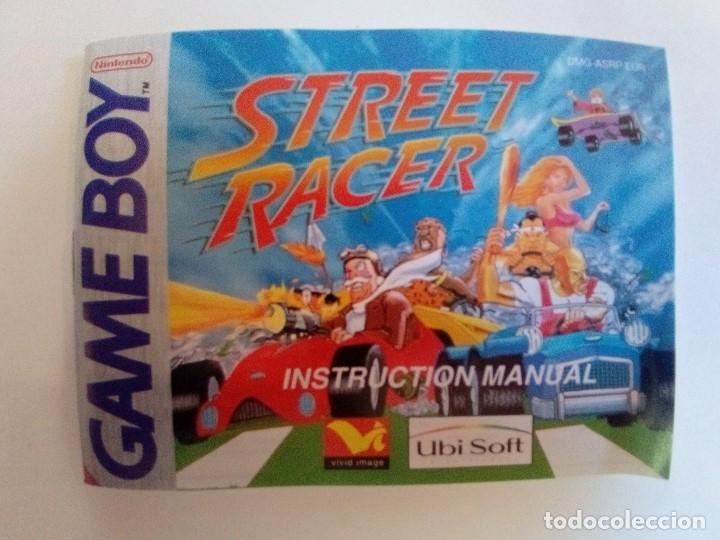 Videojuegos y Consolas: CAJA DE JUEGO GAME BOY-STREET RACER-PALCON INSTRUCCIONES-MUY BUEN ESTADO - Foto 8 - 173431805