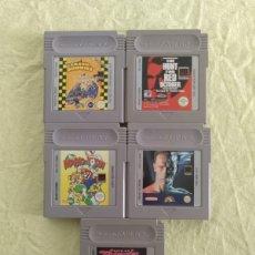 Videojuegos y Consolas: LOTE JUEGOS GAME BOY. Lote 174192702
