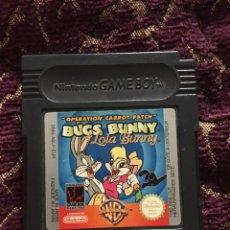 """Videojuegos y Consolas: JUEGO NINTENDO GAMEBOY """"OPERATION CARROT PATCH"""" BUGS BUNNY LOLA BUNNY. Lote 175337074"""