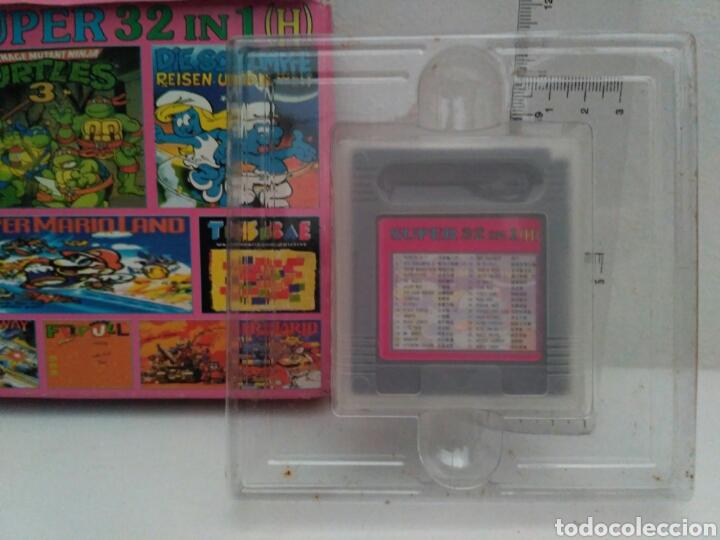 Videojuegos y Consolas: Juego para game boy super 32 in 1 - Foto 2 - 175629165