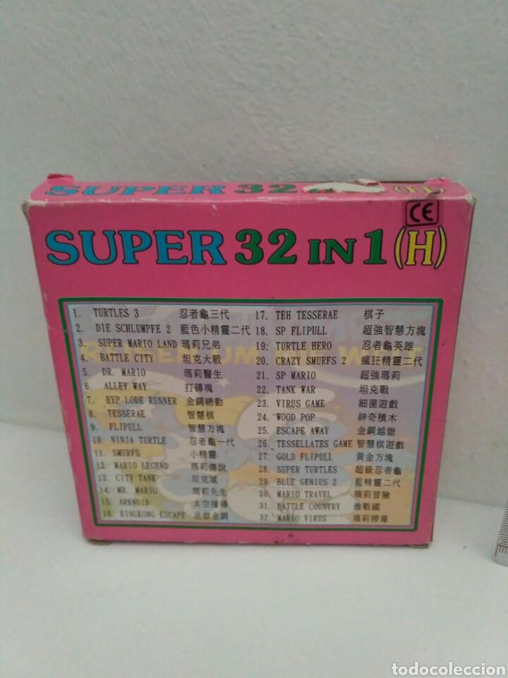 Videojuegos y Consolas: Juego para game boy super 32 in 1 - Foto 3 - 175629165