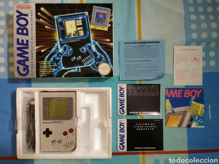 CONSOLA NINTENDO GAMEBOY GAME BOY CLASICA (Juguetes - Videojuegos y Consolas - Nintendo - GameBoy)