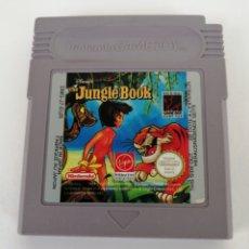 Videojuegos y Consolas: JUEGO NINTENDO GAME BOY EL LIBRO DE LA SELVA. THE JUNGLE BOOK. Lote 176059970