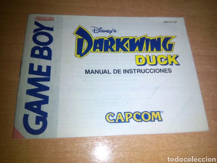 DARKWING DUCK GAME BOY NINTENDO GAMEBOY ESP (Juguetes - Videojuegos y Consolas - Nintendo - GameBoy)