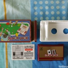 Videojuegos y Consolas: CONSOLA NINTENDO GAME & WATCH BLACK JACK. Lote 176161082