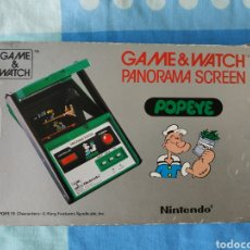 Videojuegos y Consolas: CONSOLA NINTENDO GAME & WATCH POPEYE PANORAMA SCREEN. Lote 176161315
