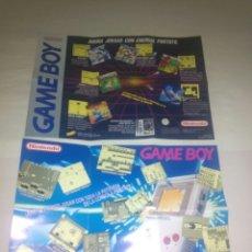 Videojuegos y Consolas: POSTERS GAMEBOY NINTENDO GAME BOY. Lote 176222947