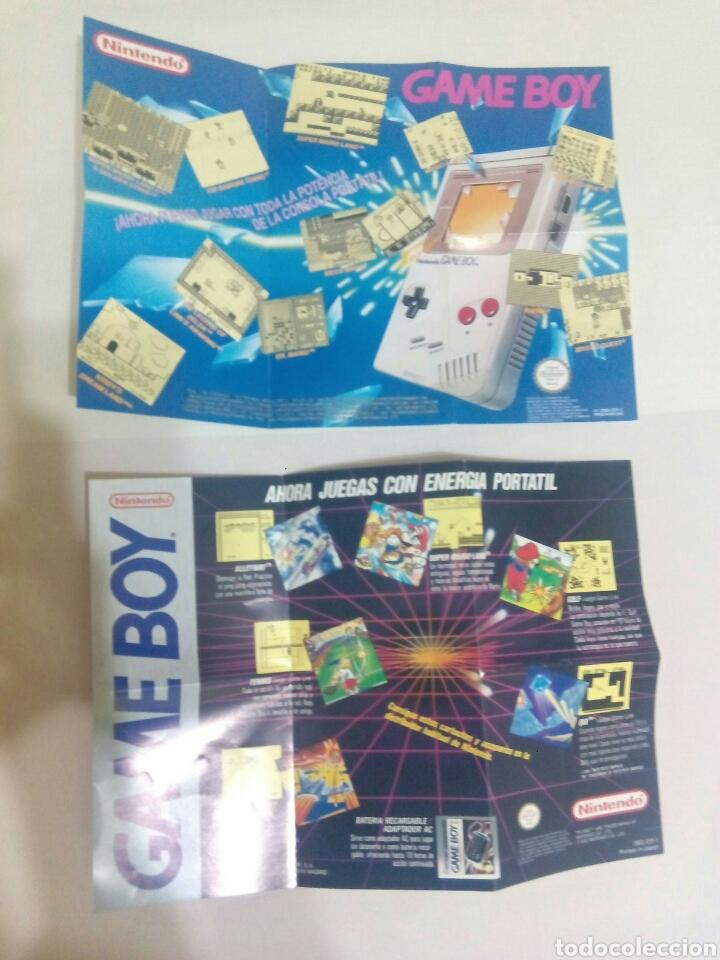 POSTERS GAMEBOY NINTENDO GAME BOY (Juguetes - Videojuegos y Consolas - Nintendo - GameBoy)