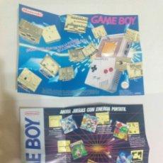 Videojuegos y Consolas: POSTERS GAMEBOY NINTENDO GAME BOY. Lote 176223928