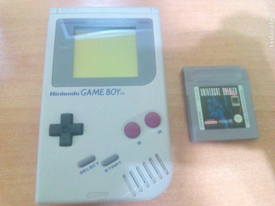 CONSOLA GAMEBOY NINTENDO GAME BOY (Juguetes - Videojuegos y Consolas - Nintendo - GameBoy)