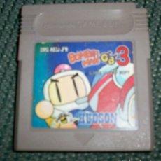 Videojuegos y Consolas: BOMBERMAN GB 3 GB3 BOMBER MAN NINTENDO GAME BOY GBC JAPONÉS NTSC. Lote 176289225