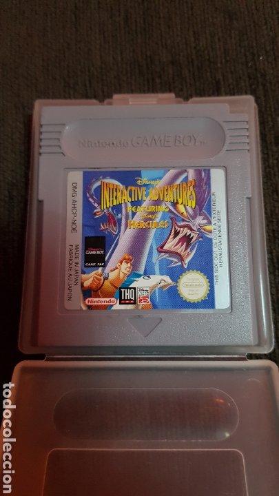JUEGO NINTENDO GAMEBOY HERCULES INTERACTIVE ADVENTURES DISNEY GAMEBOY (Juguetes - Videojuegos y Consolas - Nintendo - GameBoy)