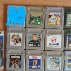 Videojuegos y Consolas: 19 JUEGOS GAMEBOY GAME BOY NINTENDO. Lote 176704712