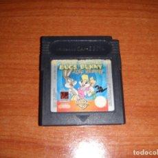 Videojuegos y Consolas: JUEGO NINTENDO GAME BOY BUGS BUNNY LOLA BUNNY FUNCIONANDO. Lote 176926979