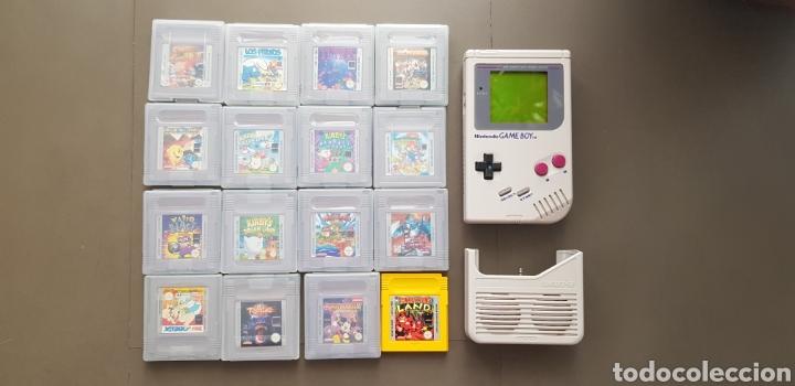 GAME BOY CÁSICA TM (Juguetes - Videojuegos y Consolas - Nintendo - GameBoy)