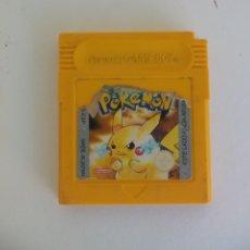 Videojuegos y Consolas: JUEGO GAMEBOY POKEMON AMARILLO GAME BOY. Lote 177557045
