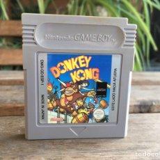 Videojuegos y Consolas: GAME BOY DONKEY KONG. JUEGO GAMEBOY. VERSION ESPAÑOLA. MUY BUEN ESTADO.. Lote 177739782