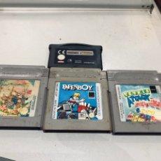 Videojuegos y Consolas: LOTE JUEGOS GAME BOY - VER LAS FOTOS. Lote 178114394