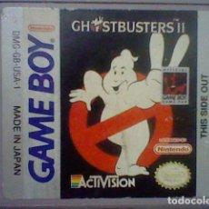 Videojuegos y Consolas: GHOSTBUSTERS II GAME BOY DMG-GB-USA-1 SOLO CARTUCHO FUNCIONANDO CAZAFANTASMAS NINTENDO. Lote 178131048