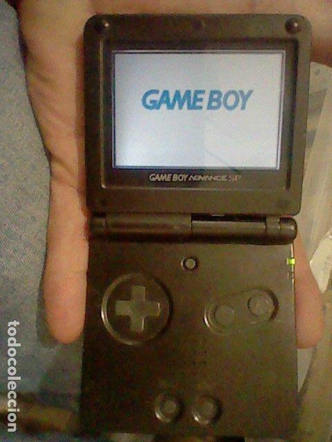 GAME BOY ADVANCE NEGRA NINTENDO CONSOLA FUNCIONANDO LEER DESCRIPCION DEFECTOS AGS 001 (Juguetes - Videojuegos y Consolas - Nintendo - GameBoy)