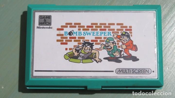 NINTENDO GAME WATCH. BOMB SWEEPER. FUNCIONA (Juguetes - Videojuegos y Consolas - Nintendo - GameBoy)