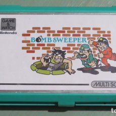 Videojuegos y Consolas: NINTENDO GAME WATCH. BOMB SWEEPER. FUNCIONA. Lote 178231275