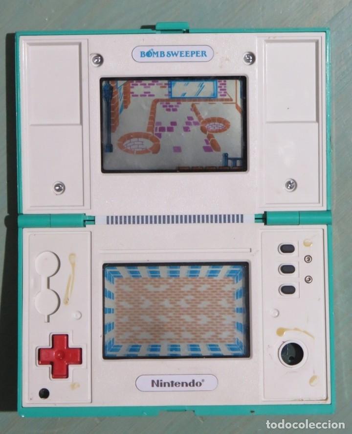 Videojuegos y Consolas: NINTENDO GAME WATCH. BOMB SWEEPER. FUNCIONA - Foto 2 - 178231275
