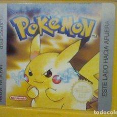 Videojuegos y Consolas: POKEMON EDICION AMARILLA DMG APSS ESP GB GAMEBOY GAME BOY FUNCIONANDO LEER . Lote 178341135