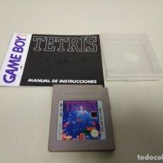 Videojuegos y Consolas: JJ10- TETRIS + MANUAL INSTRUCCIONES GAME BOY DMG TR ESP ESPAÑA . Lote 178666846
