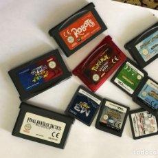 Videojuegos y Consolas: LOTE DE 10 JUEGOS NINTENDO- VER LAS FOTOS. Lote 178790355