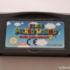 Videojuegos y Consolas: JUEGO NINTENDO SUPER MARIO WORLD GAME BOY ADVANCE . Lote 178877053
