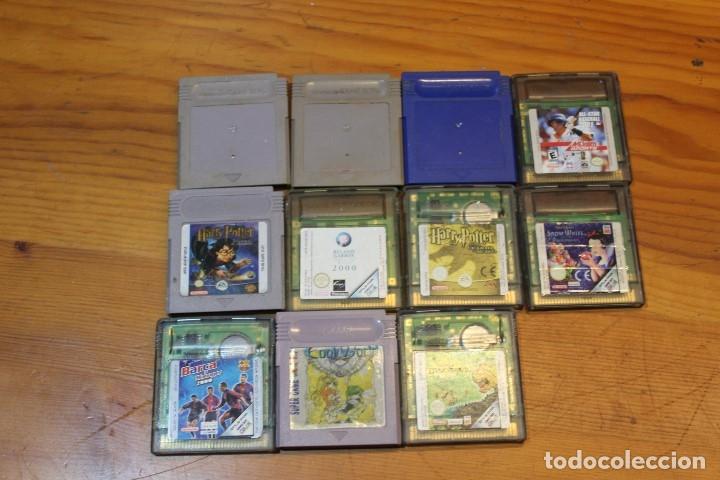 LOTE 11 JUEGOS GAMEBOY (Juguetes - Videojuegos y Consolas - Nintendo - GameBoy)