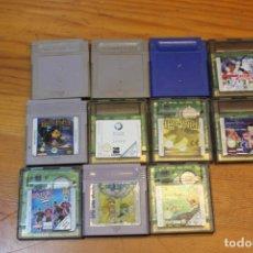 Videojuegos y Consolas: LOTE 11 JUEGOS GAMEBOY . Lote 178965387