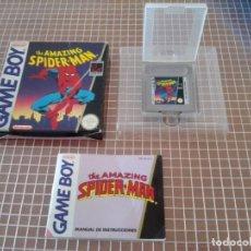 Videojuegos y Consolas: GB THE AMAZING SPIDER-MAN PAL ESPAÑA COMPLETO GAME BOY CLASICA NINTENDO ERBE. Lote 179005183