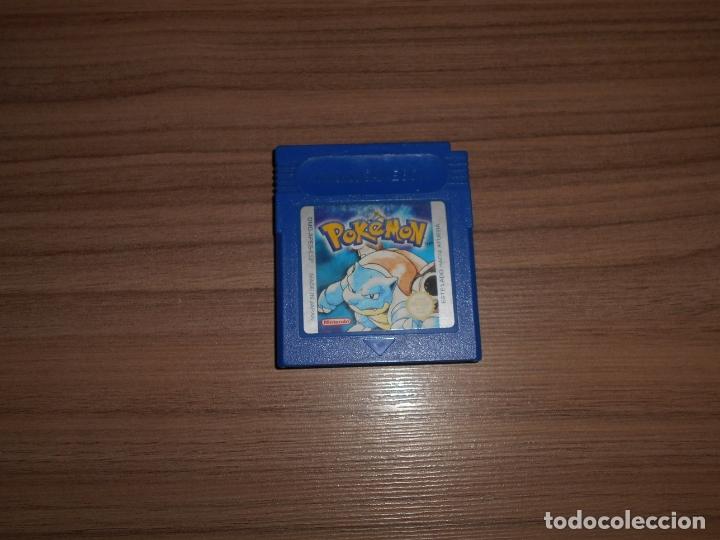 POKEMON AZUL JUEGO NINTENDO GAME BOY PAL ESPAÑA CASTELLANO (Juguetes - Videojuegos y Consolas - Nintendo - GameBoy)