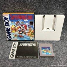 Videojuegos y Consolas: SUPER MARIO LAND NINTENDO GAME BOY. Lote 179344710