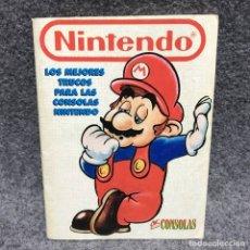 Videojuegos y Consolas: OK SUPER CONSOLAS LOS MEJORES TRUCOS PARA LAS CONSOLAS NINTENDO. Lote 179344746